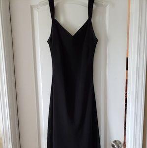 Evan Picone T-length Black Dress